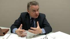 US Representative Chris Smith (R-NJ) is interviewed