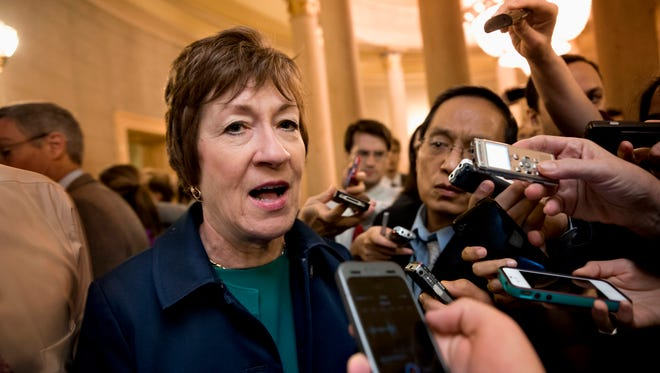 Sen. Susan Collins, R-Maine, led a bipartisan group of senators in finding an end to the government impasse.