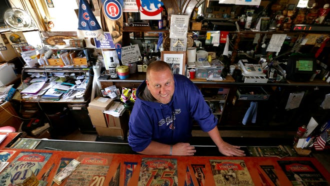 Chicago Cubs fan Tommy Siegel is the owner of Tony's Sports Bar in Menasha.