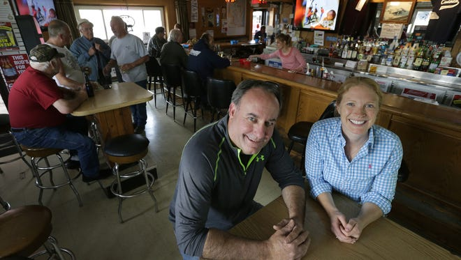 Co-owners Steve Van Fossen and Kim Halbach are giving the Cinderella bar a redo and expansion in the Town of Menasha.