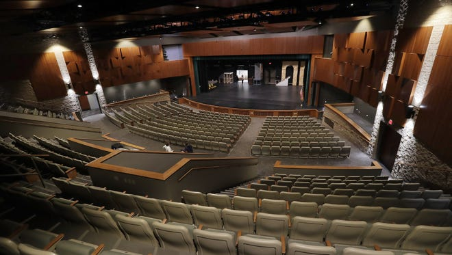 The auditorium at the new Performing Arts Center at Ashwaubenon High School. The auditorium seats 700 people.