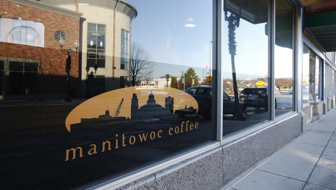 Manitowoc Coffee in downtown Manitowoc in January.