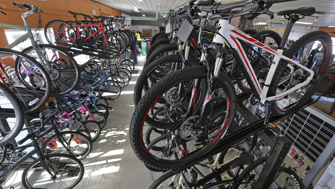 The Recyclist in Kaukauna will bring some of its bikes, plus kayaks and paddle boards, this spring to a new second site in Appleton.