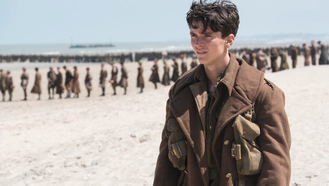 Fionn Whitehead plays a British private named Tommy in Christopher Nolan's World War II movie 'Dunkirk.'