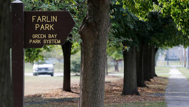 Farlin Park in Green Bay. Neighbors are concerned about a history of suspicious activity in the park.