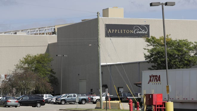 Appleton Coated, located at 540 Prospect St., Combined Locks, had 620 employees. Only a small crew remains.