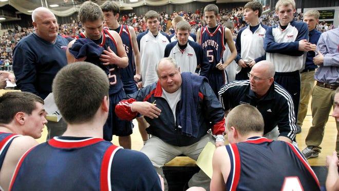 John Mielke, the longtime boys basketball coach at Appleton East High School, resigned on Sunday.