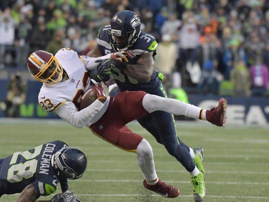 USP NFL: WASHINGTON REDSKINS AT SEATTLE SEAHAWKS S FBN SEA WAS USA WA