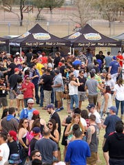 The Strong Beer Festival is the major event during Arizona Beer Week.