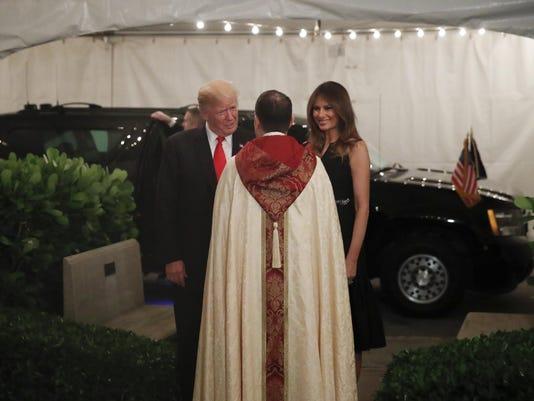 Donald Trump,Melania Trump,James R. Harlan