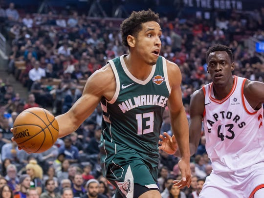 Malcolm Brogdon was a second-round pick of the Bucks in the 2016 NBA draft.