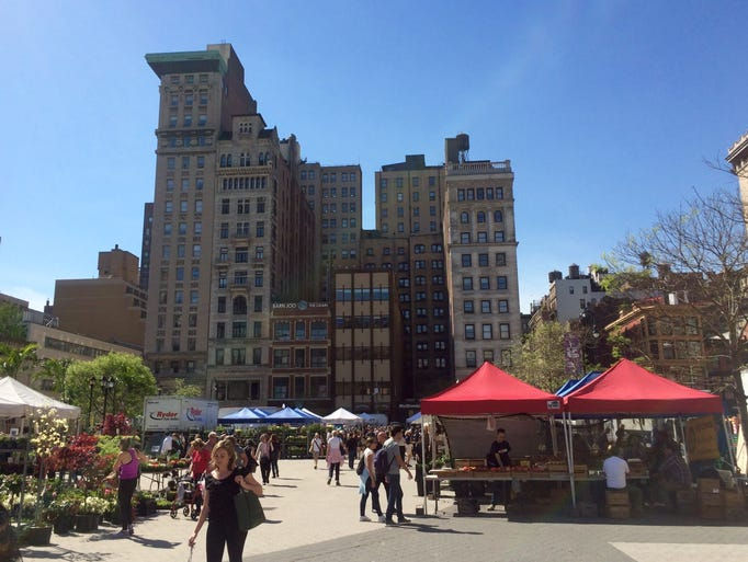 Standout farmers markets in each state for Flowers union square nyc