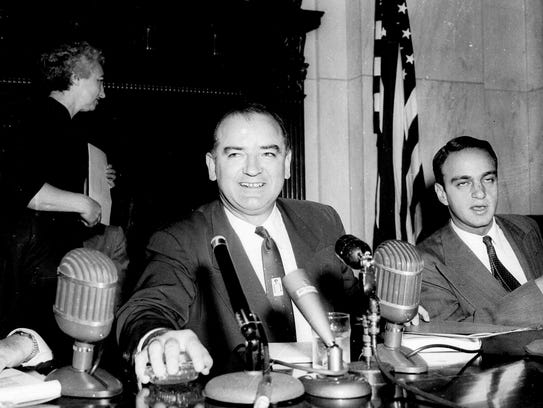 mccarthy hearings essay Joe mccarthy and his red scare are still in the news and his papers at marquette university provide a treasure trove to researchers until 1988, the papers, donated by joe mccarthy's widow.