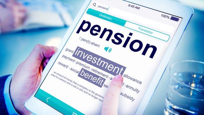 File Image - Pension Illustration