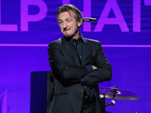 Sean Penn on January 9, 2016 in Beverly Hills.Getty
