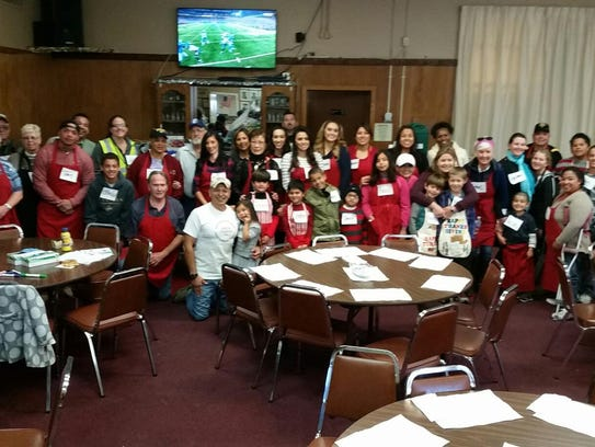 All the volunteers who made Thanksgiving Day possible