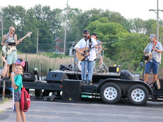 The Last Born Sons perform live at Oak Harbor's Independence