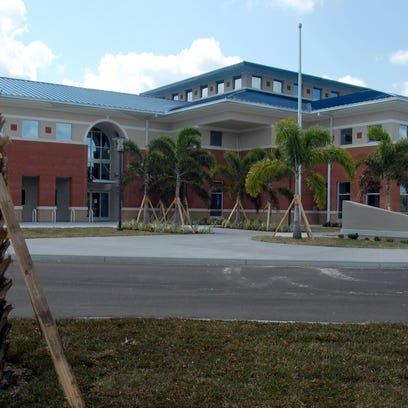 Indian River County used $4.5 million of optional sales tax money to help build the Brackett Library on the campus of Indian River County Community College in Vero Beach. County sales tax receipts have helped to build three libraries in the county. Voters will be asked in November to reauthorize the 1 percent sales tax for an additional 15 years.