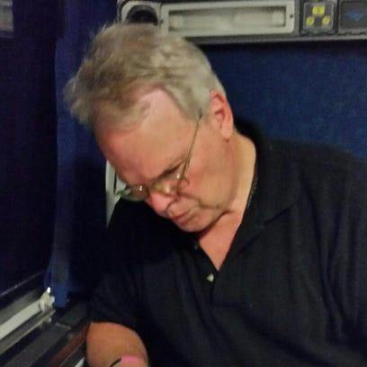 Jon Ausman aboard the plane to Philidelphia for the