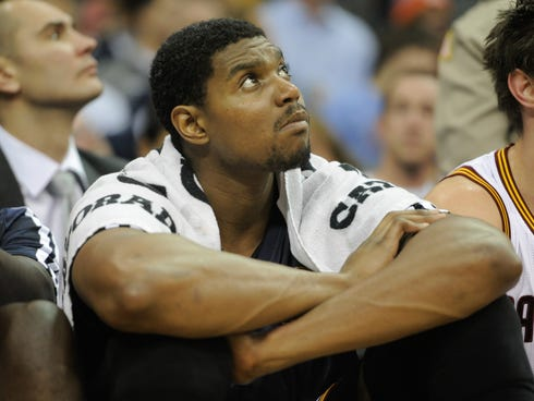 Andrew Bynum has not been happy in his time with the Cavaliers.