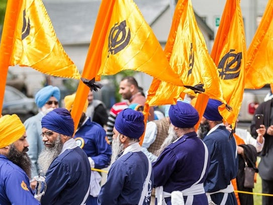 The 12th annual celebration of Nagar Kirtan, a traditional