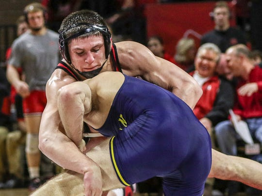 Rutgers wrestler Anthony Perrotti was an All-American in 2014, the first of the Scott Goodale era.
