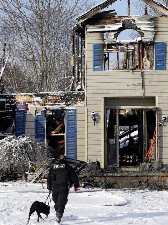 AP OHIO HOUSE EXPLOSION A USA OH