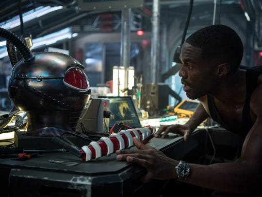 "Black Manta (Yahya Abdul-Mateen II) isn't the primary villain of ""Aquaman"" but the stage is set to continue his story later."