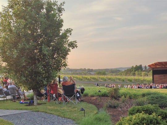 The Skaneateles Festival at Anyela's Vineyards.