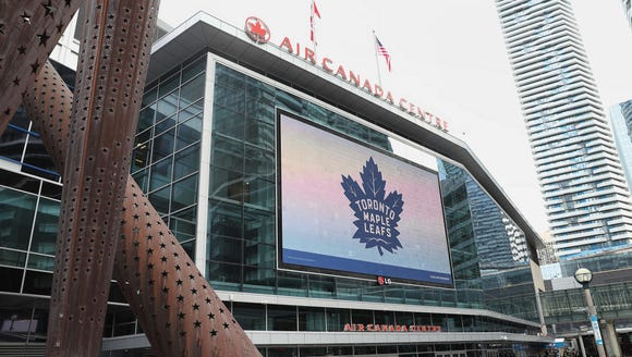 Saturday marks the Flyers' only trip to Toronto this