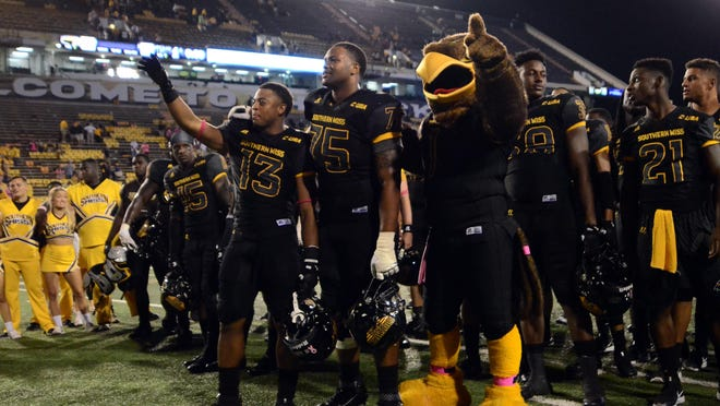 Southern Miss will meet Louisiana-Lafayette at 8 p.m. Dec. 17 in the New Orleans Bowl.