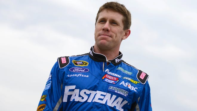 Carl Edwards says he's trying to learn how and where to pick up speed at NASCAR's smallest and slowest track.