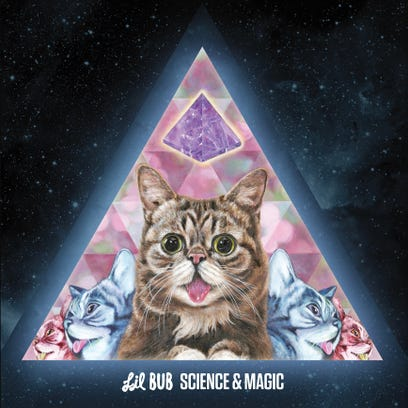 """The cover for """"Science & Magic: A Soundtrack to the Universe."""""""