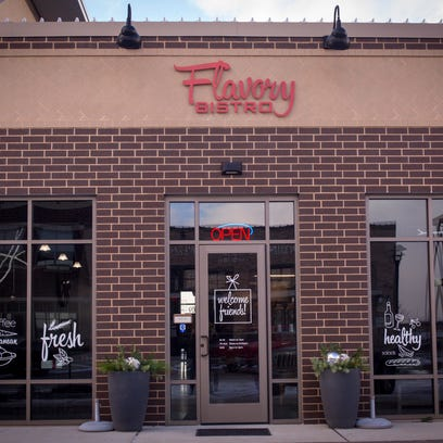 Flavory Bistro for Datebook Diner review photographed