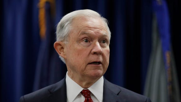 In this July 21, 2017 file photo, Attorney General