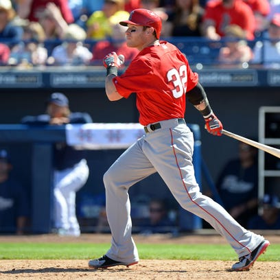 The MLB players union has criticized leaks surrounding Josh Hamilton of the Los Angeles Angels.