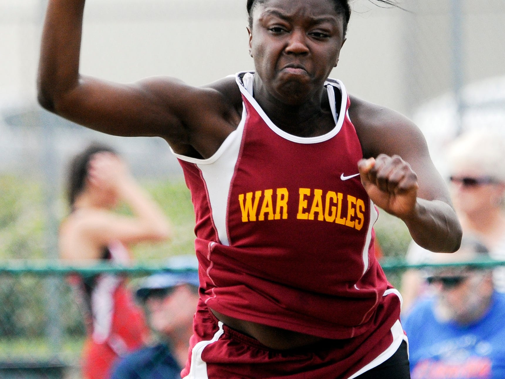Keona Cadore of Astronaut High School will compete in the shot put and discus Friday in Jacksonville at the state track and field championships.