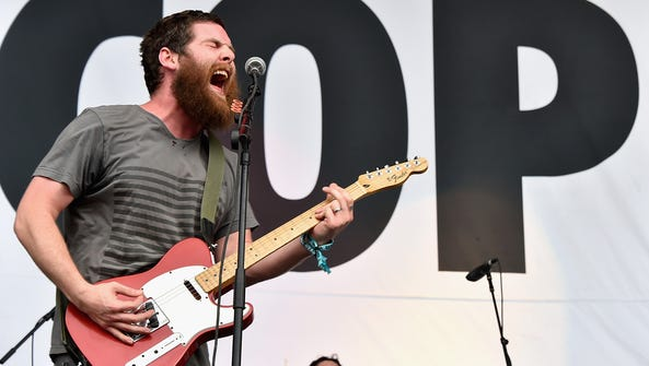 Andy Hull of Manchester Orchestra performs at the Firefly