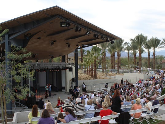 Rancho Mirage debuts renovated park, amphitheater