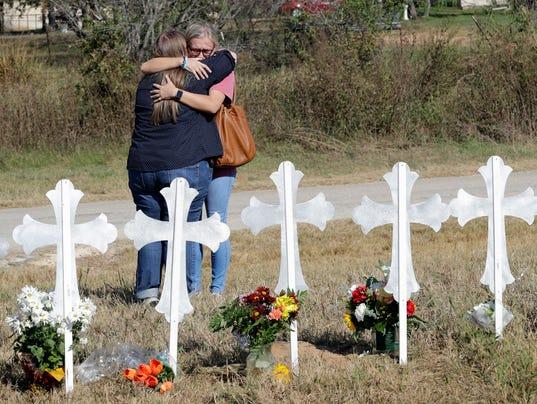 AP TEXAS CHURCH SHOOTING A USA TX
