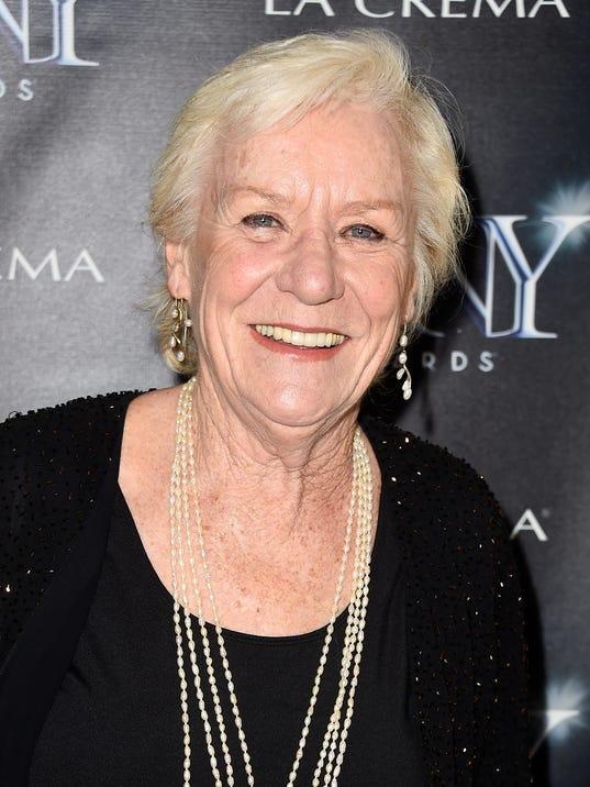 FILE: Actress Barbara Tarbuck Dies At 74