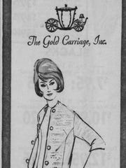 """In 1964, the fashion show at the Cape Coral Yacht Club featured """"Custom Suits by Jennifer."""""""