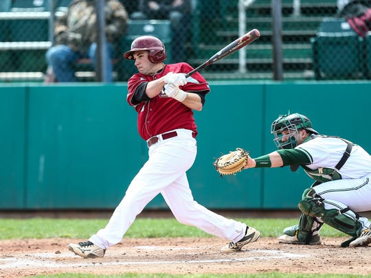 When Dan Sepic isn't on the pitcher's mound, he's driving in runs for the Indiana University (Pa.) baseball team.