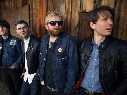 Scottish dance-rockers Franz Ferdinand are among the