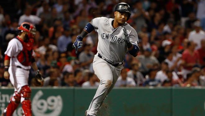 Yankees' Starlin Castro