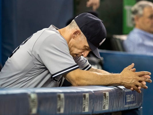 AP YANKEES GIRARDI BASEBALL S BBA FILE CAN ON