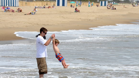 Several Delaware towns were featured among the 30 greatest small beach towns on the East Coast.