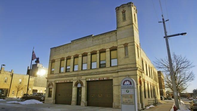 Downtown Sheboygan Fire Station No. 1.