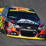 NASCAR Sprint Cup Series driver Jeff Gordon.