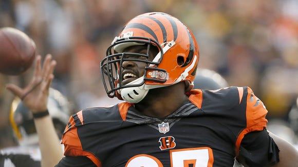 Bengals defensive tackle Geno Atkins
